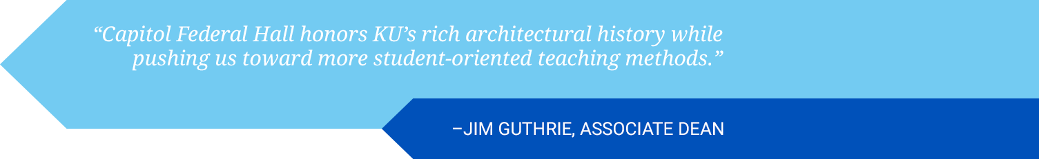 Quote from Assoicate Dean Jim Guthrie