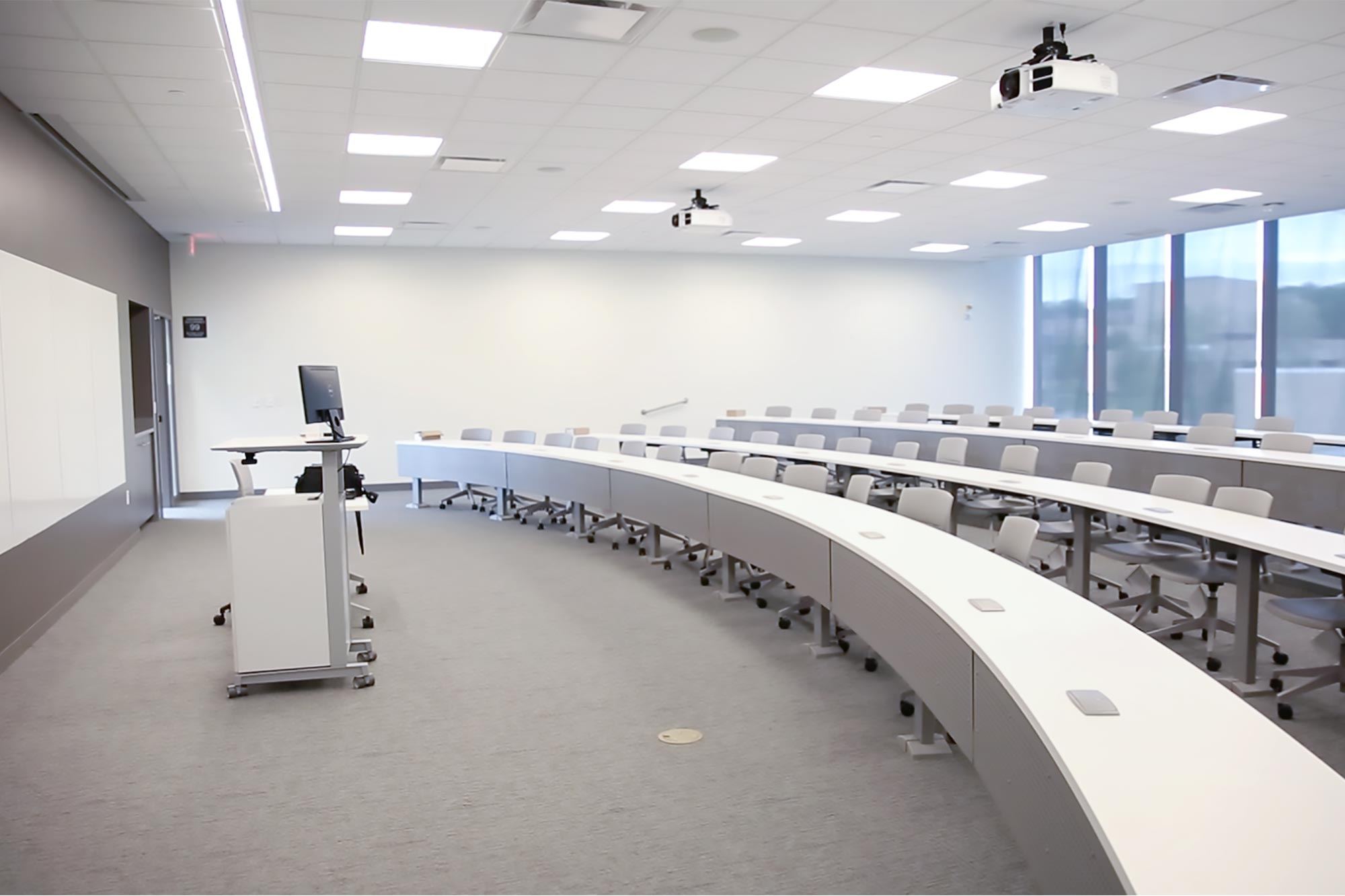 New classroom inside Capitol Federal Hall